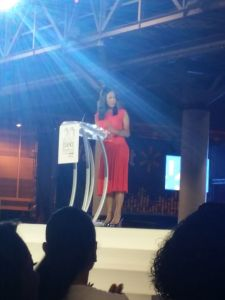 Michelle Ebanks on Stage
