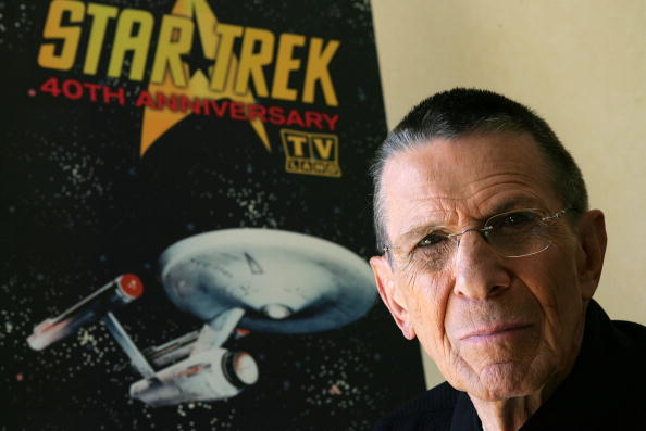 Leonard Nimoy promotes the 'Star Trek' 40th Anniversary on the TV Land network at the Four Seasons hotel August 9, 2006 in Los Angeles, California. (Photo by Frazer Harrison/Getty Images)