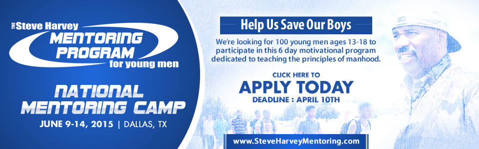 Steve Harvey Mentoring Camp