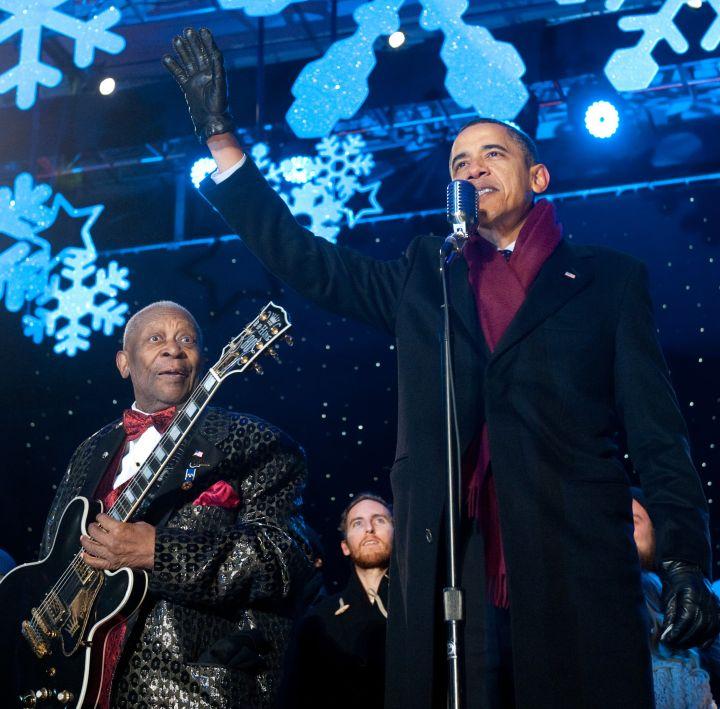 B.B. King and President Obama