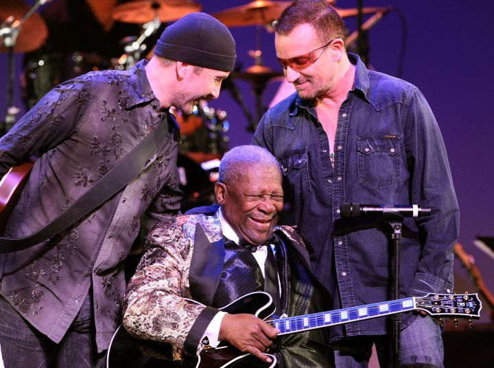 B.B. King and Bono