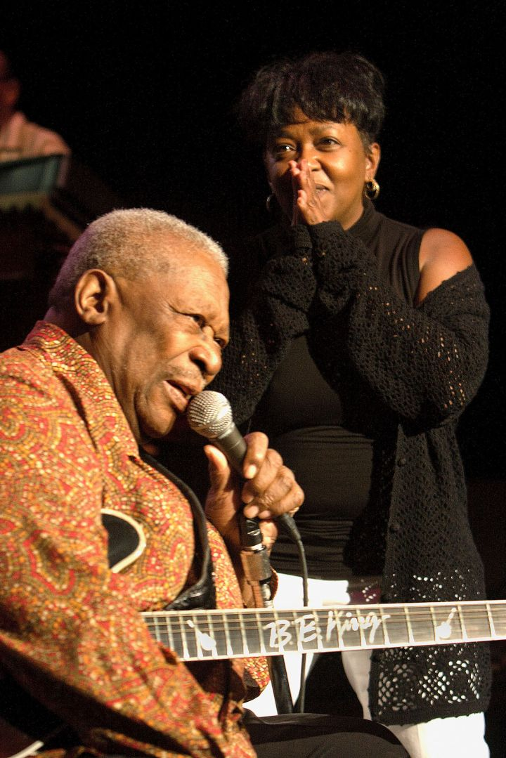 B.B. King and Anita Baker