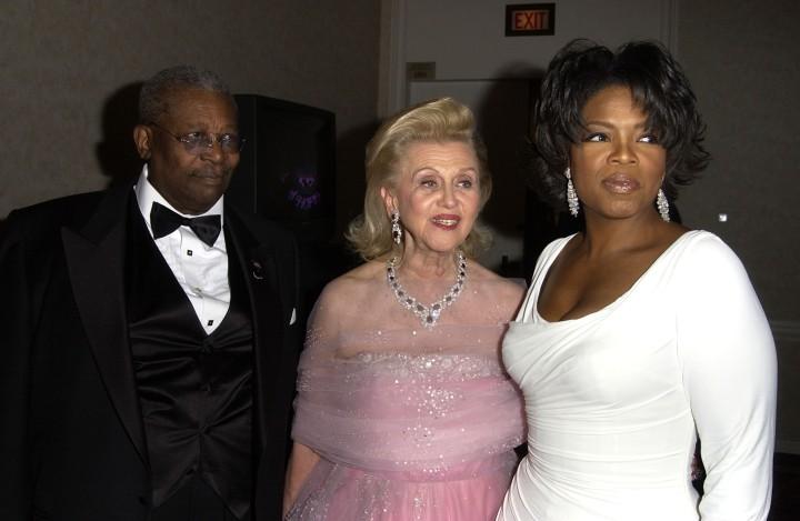 B.B. King and Oprah