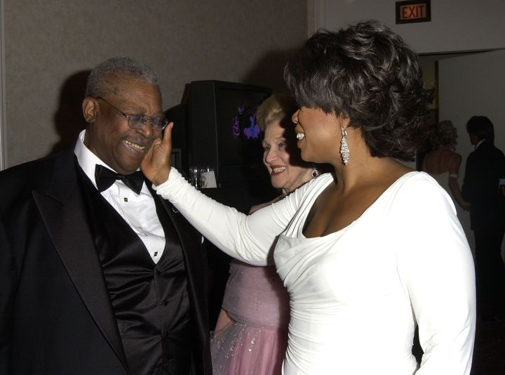 B.B. King and Oprah