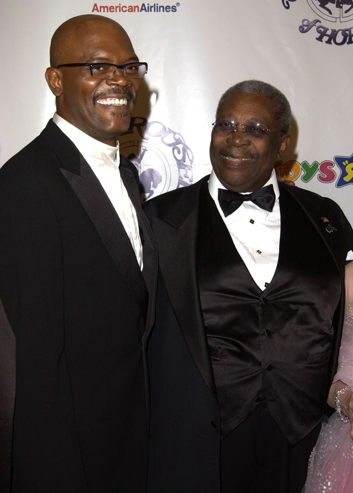 B.B. King and Samuel L Jackson