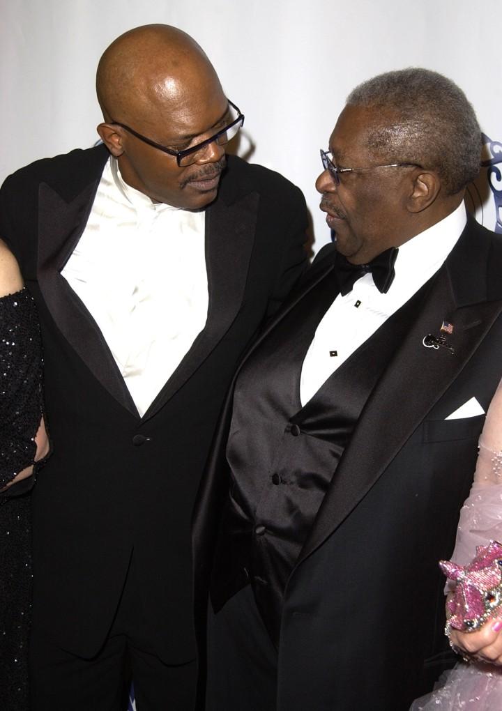 B.B. King and Samuel L Jackson