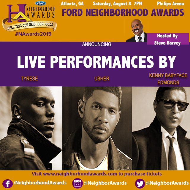 2015 Neighborhood Awards performances
