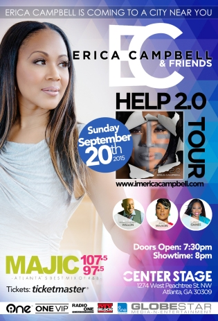 Erica Campbell Center Stage concert