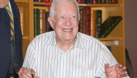 Jimmy Carter Book Signing For 'A Full Life: Reflections At Ninety'