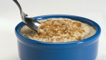 Bowl of Oatmeal with Brown Sugar