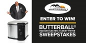 Your Chance To Win A Butterball Indoor Electric Turkey Fryer By Masterbuilt