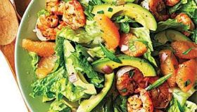 Shrimp, Avocado, and Grapefruit Salad