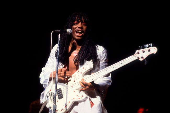 Rick James At The Uptown Theater