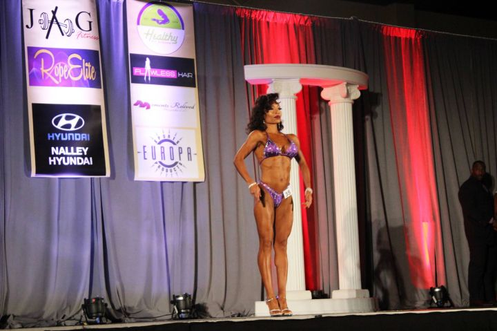 Maria More Fitness Competition