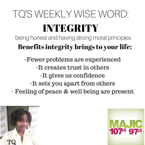TQ's Weekly Wise Word