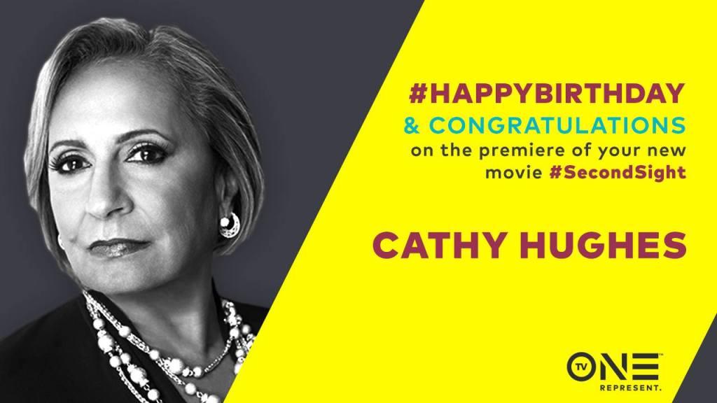 Cathy Hughes Birthday FLyer