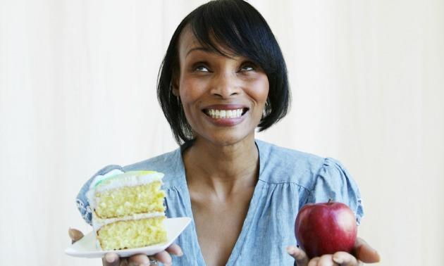Woman Making Diet Choices