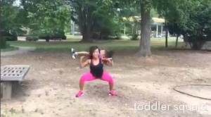 Maria More toddler workout