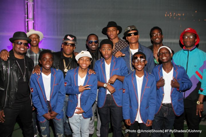 The Cast of New Edition & New Edition