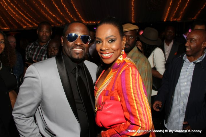 Johnny Gill with Sheryl Lee Ralph