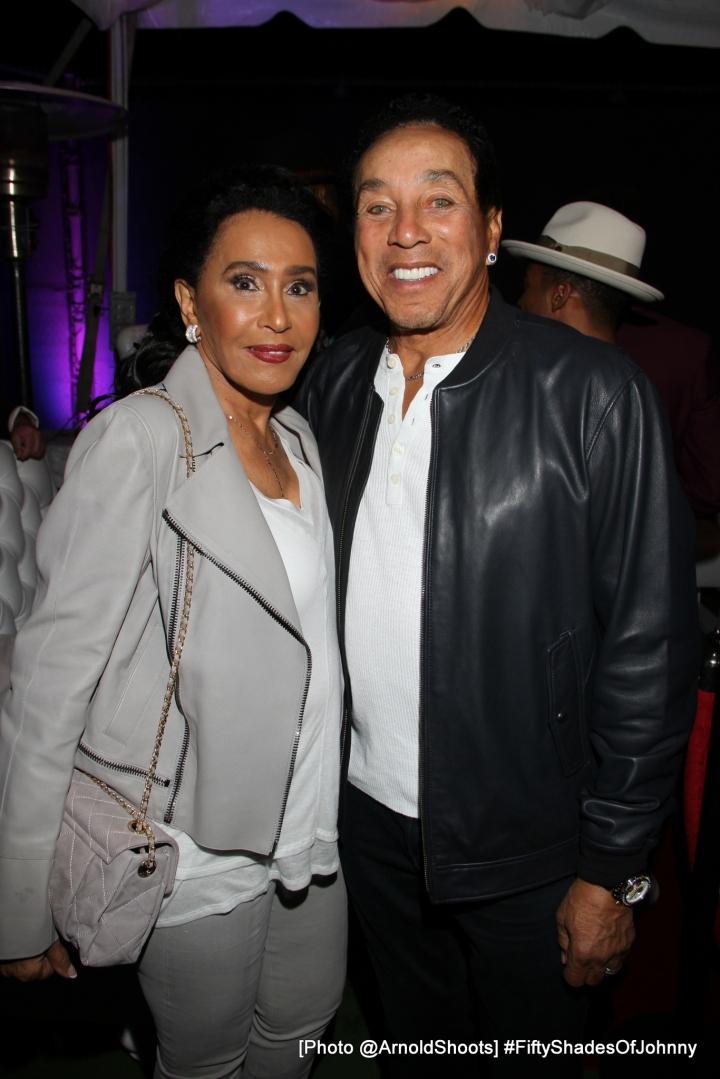 Smokey Robinson & Wife