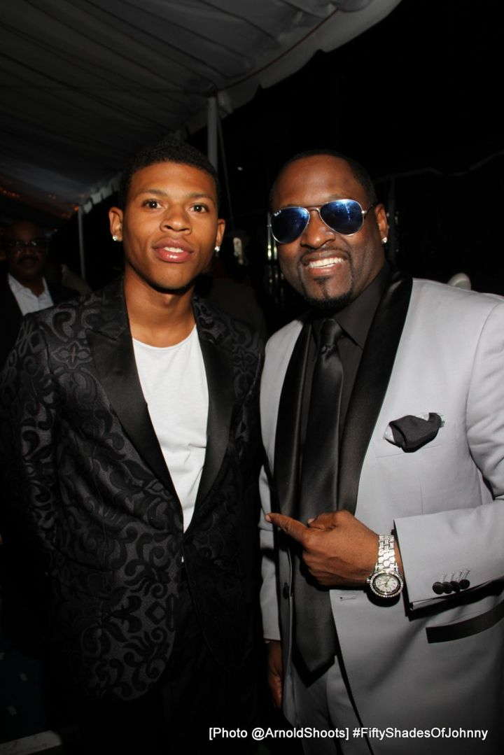Breyshere Gray and Johnny Gill