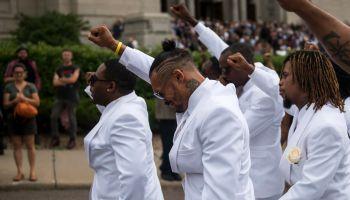 Funeral Held For MN Police Shooting Victim Philando Castile