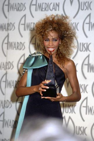 Whitney Houston At The AMA's