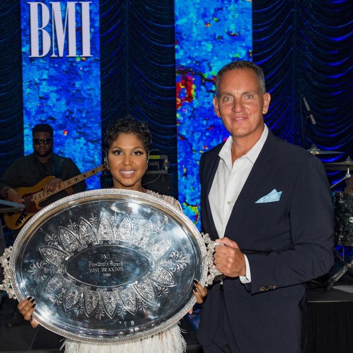 Toni Braxton & BMI CEO Mike O'Neill