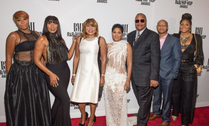 The Braxtons at 2016 BMI R&B/Hip-Hop Awards