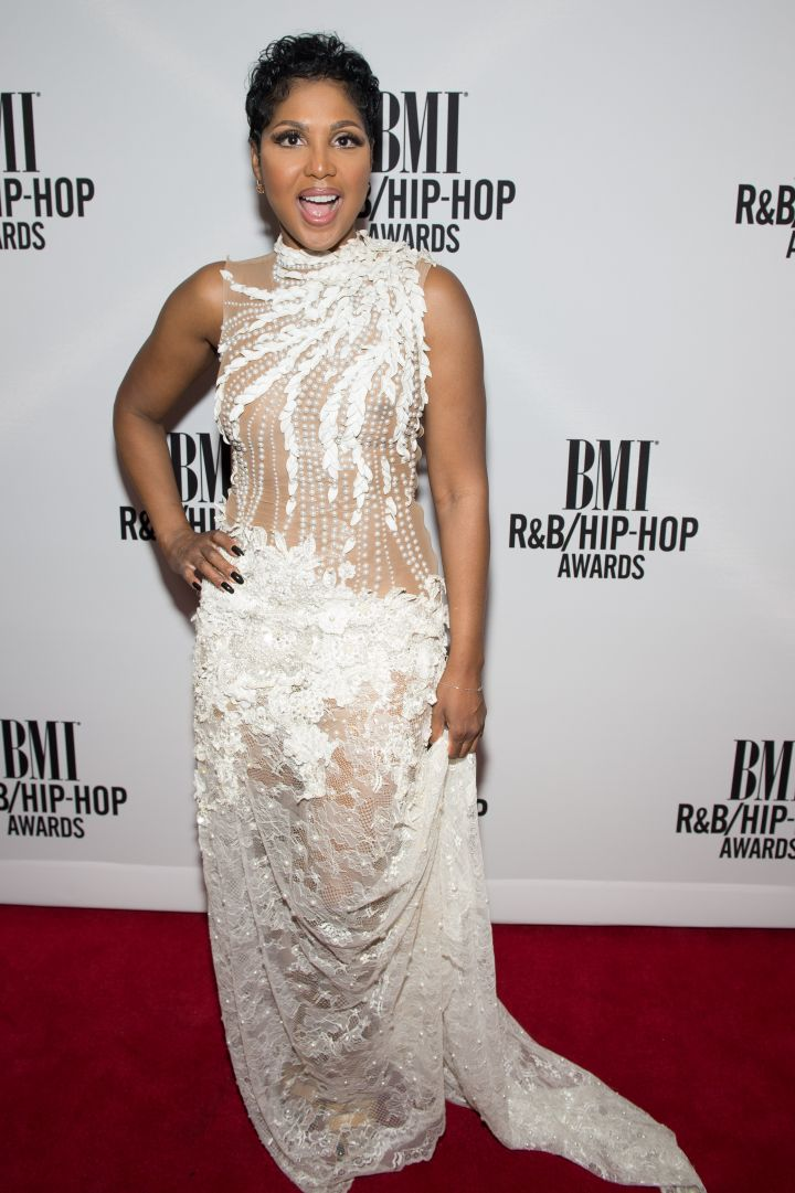 Toni Braxton Red Carpet 2 at 2016 BMI R&B/Hip-Hop Awards
