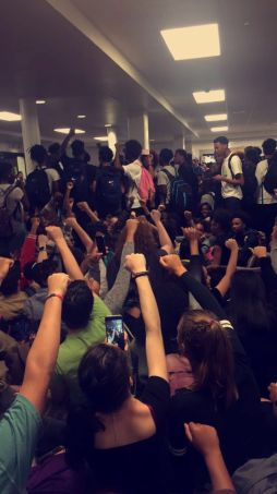 student protest north springs high school