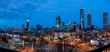 Panorama of Downtown Atlanta