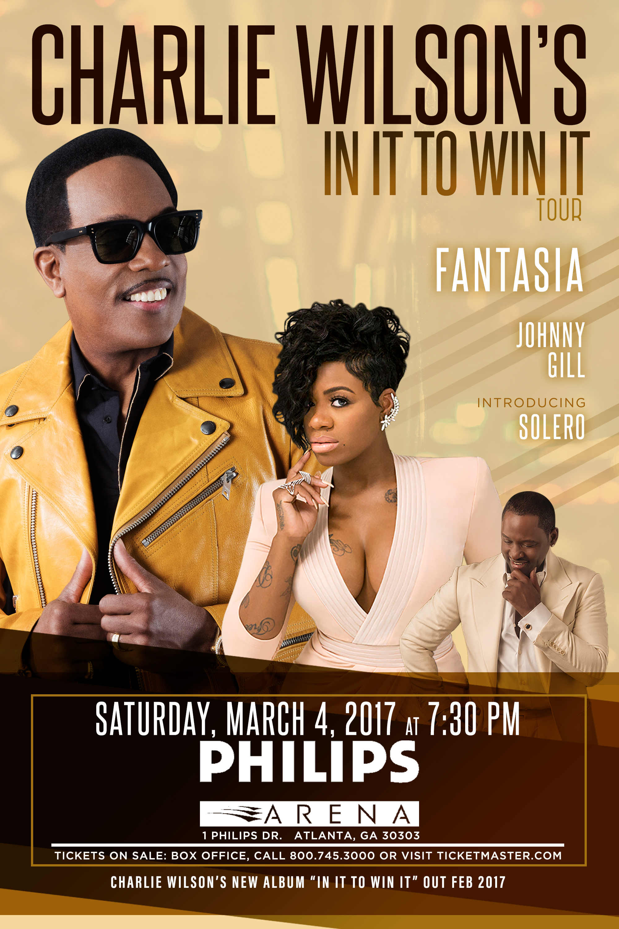 Charlie Wilson Live - Philips Arena Client Provided
