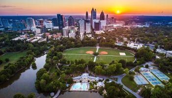 Piedmont Park Aerial, Atlanta