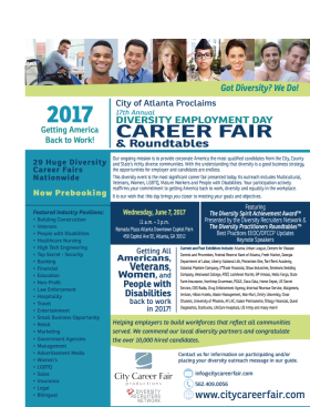 City of Atlanta Diversity Employment Day Career Fair