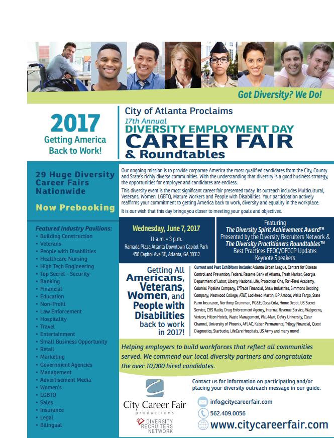 City of Atlanta Diversity Employment Day Career Fair