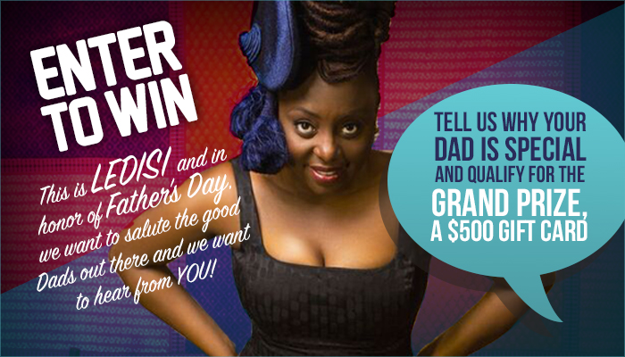 Ledisi Enter to Win