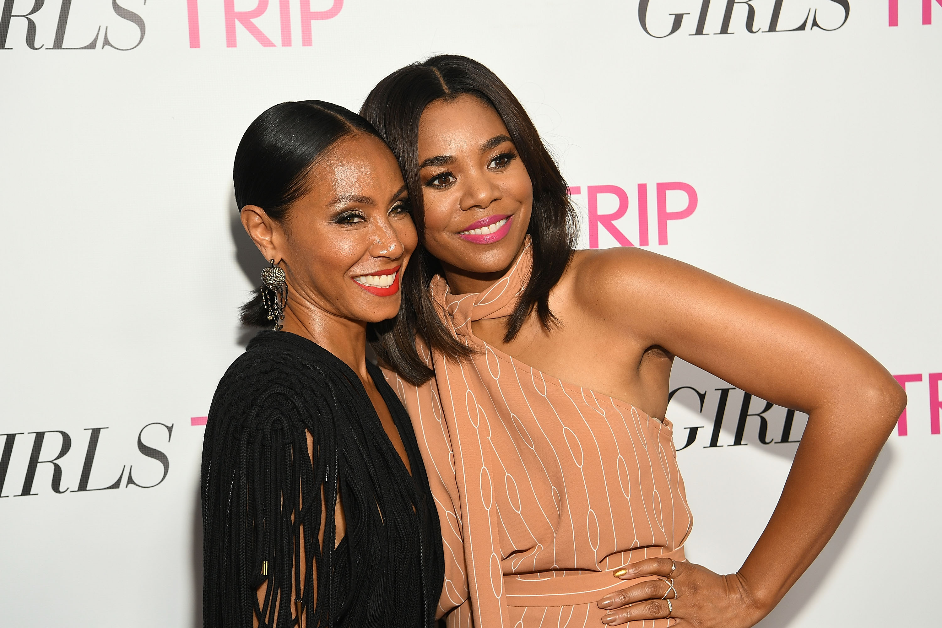 Jada Pinkett Smith, Regina Hall And Will Packer Host Special Screening Of GIRLS TRIP In Atlanta