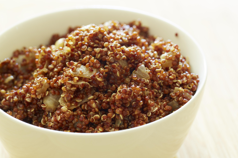 Quinoa in bowl