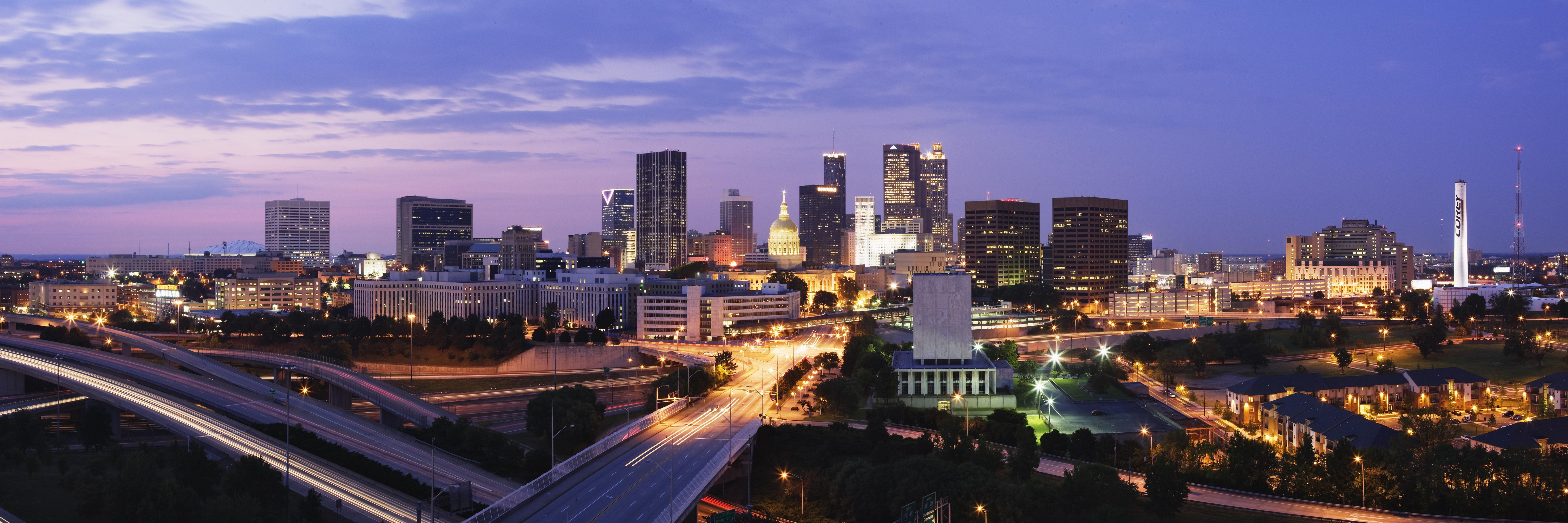 Buildings in a city, Downtown Atlanta, Atlanta, Georgia, USA