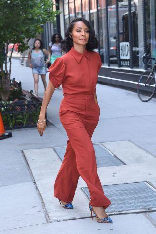 BuzzFoto Celebrity Sightings In New York - July 17, 2017