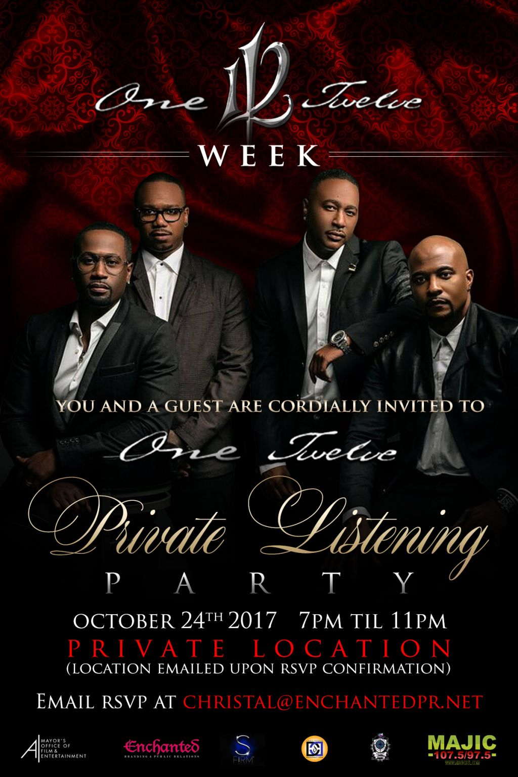 112 Week Atlanta Listening Party