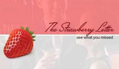 Strawberry Letter Imagery