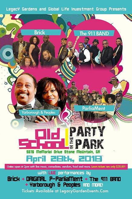 Old School Party in The Park