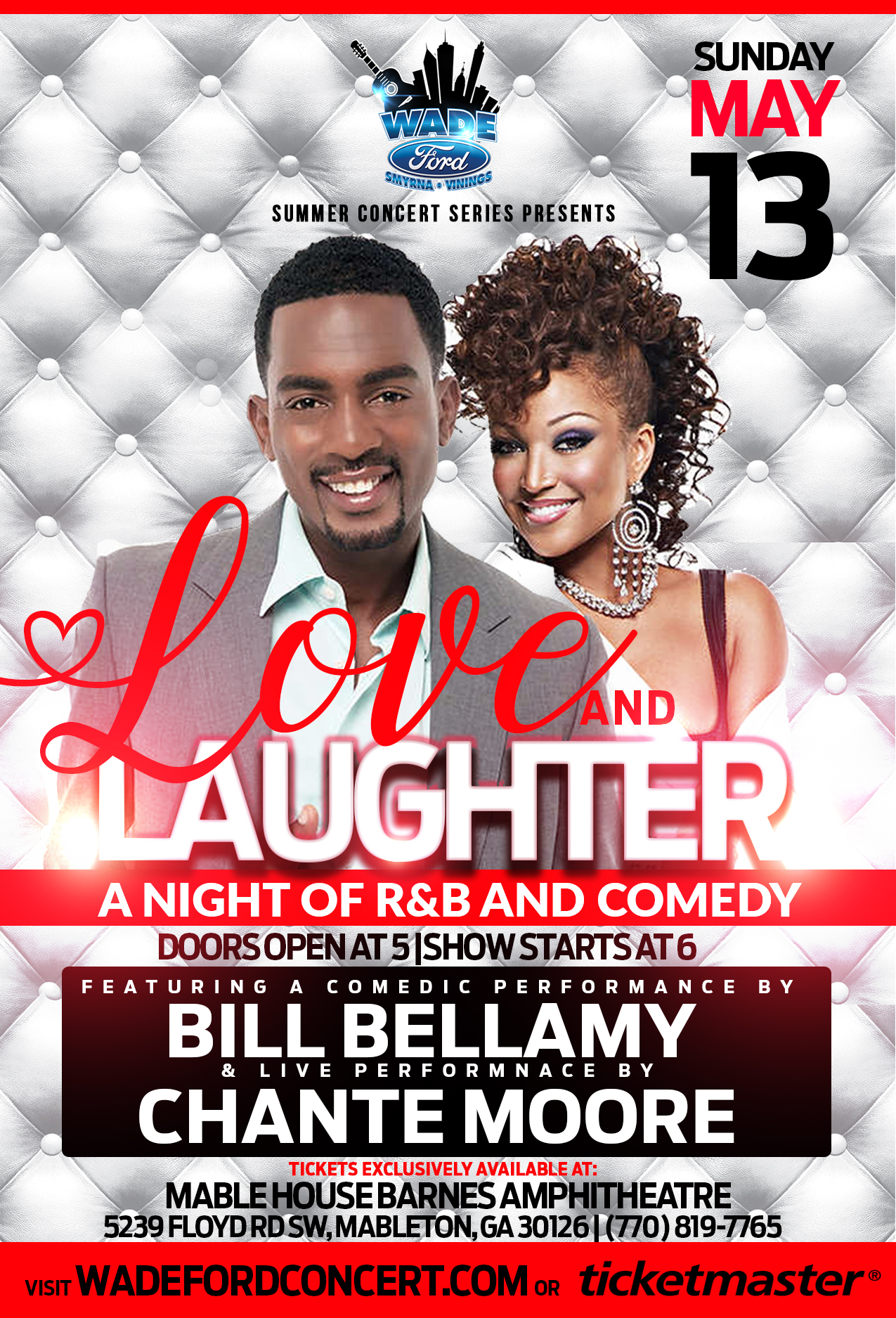 Love & Laughter: A Night Of R&B And Comedy