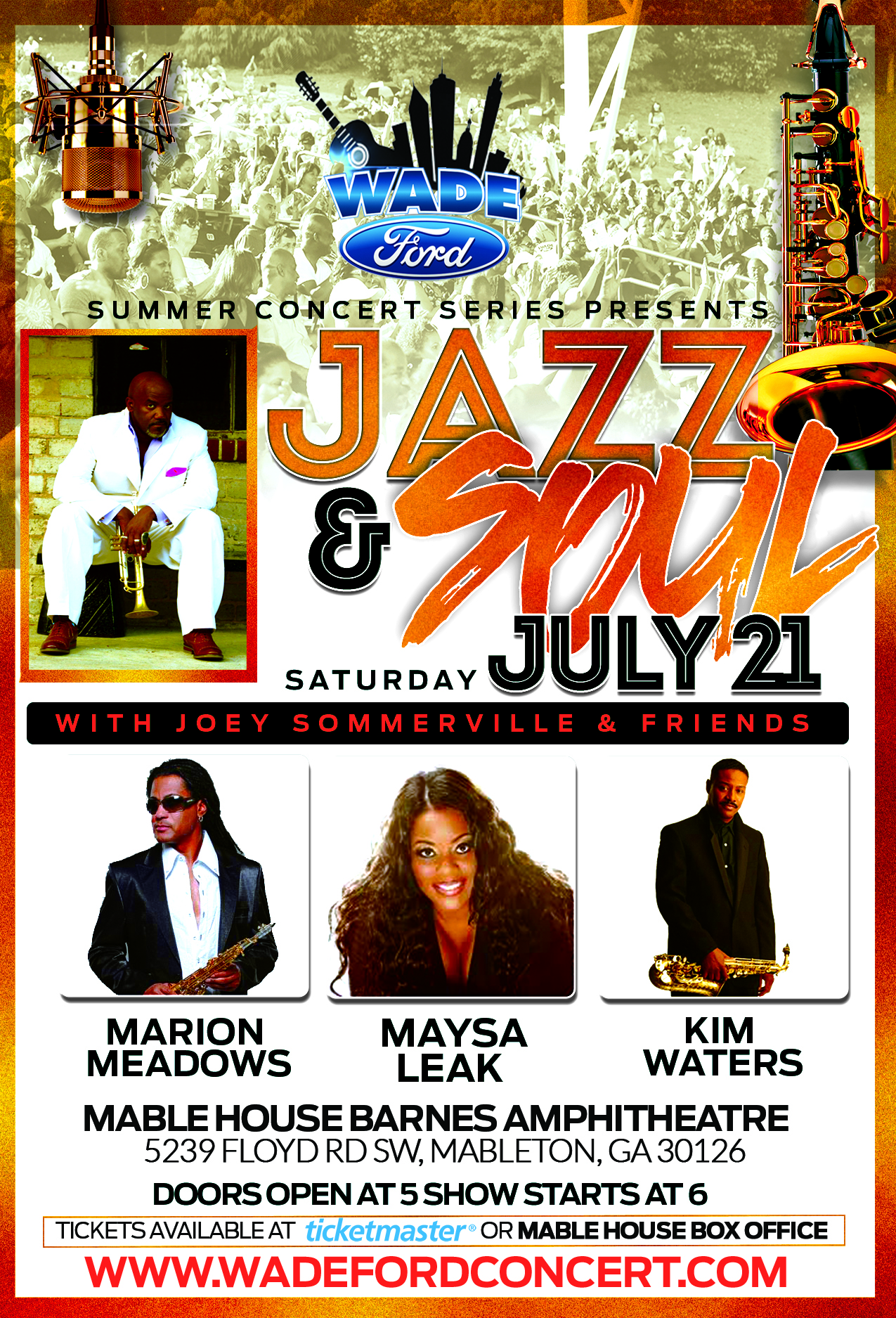 Wade Ford Presents Jazz And Soul