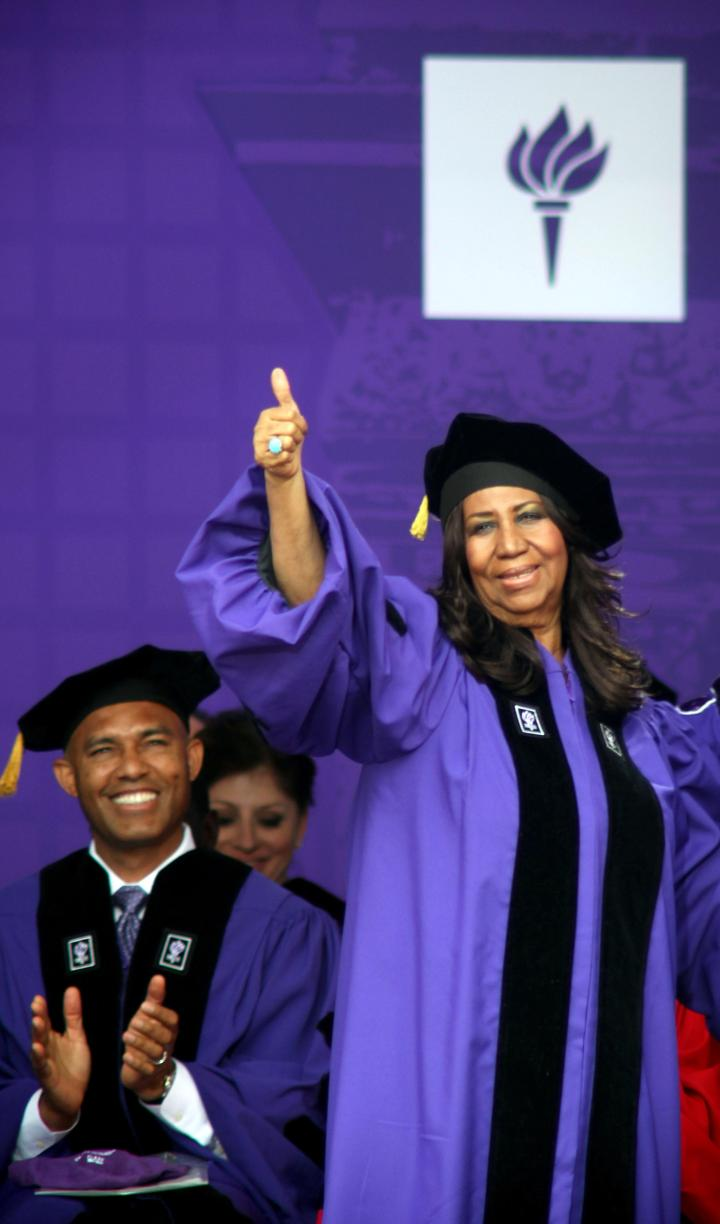 2014 New York University Commencement Ceremony