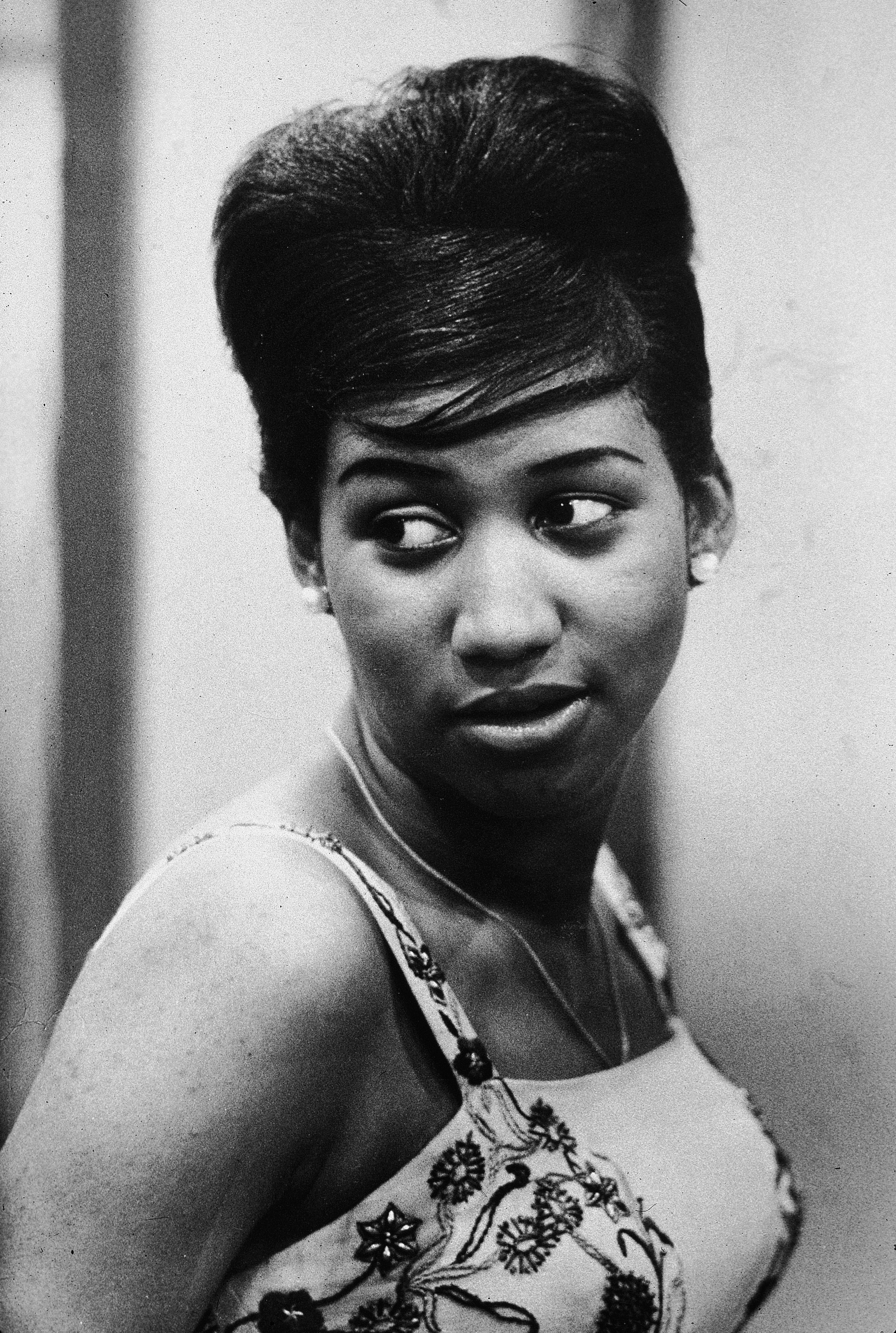 Headshot Of Aretha Franklin