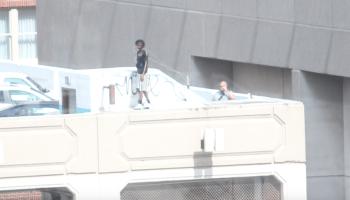 Atlanta Man jumping from building